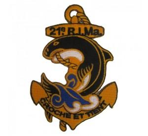 Patch 21ème RIMa (Régiment...