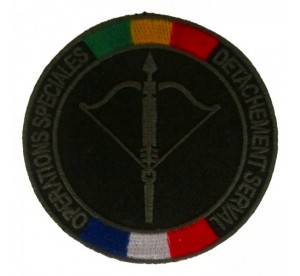 Patch COS Opération Serval...
