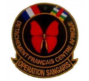 Patch Opération Sangaris...