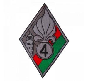 Patch 4ème RE (Régiment...