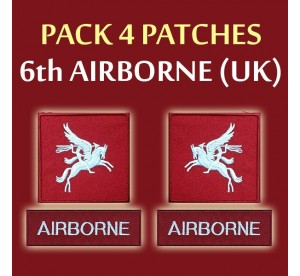 Patch PACK 6th Airborne UK...