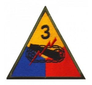 Patch 3rd Armored Division