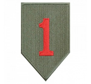 Patch 1st Infantry Division...