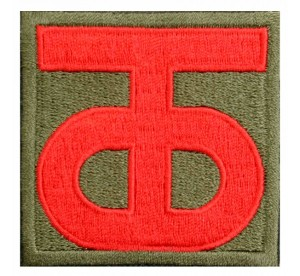Patch 90th Infantry Division