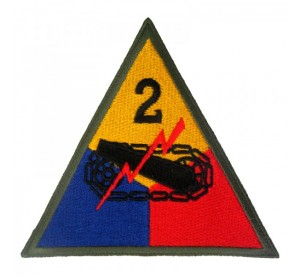 Patch 2nd Armored Division...