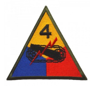 Patch 4th Armored Division...