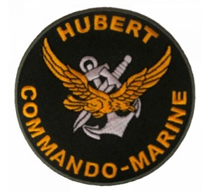 Ecusson Commando Marine Hubert