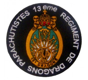 Patch 13eme RDP (Régiment...