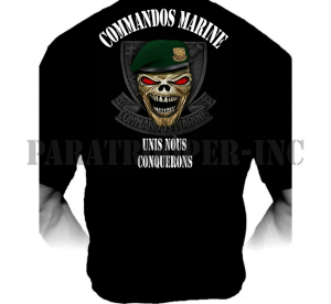 T-shirt Commandos Marine...