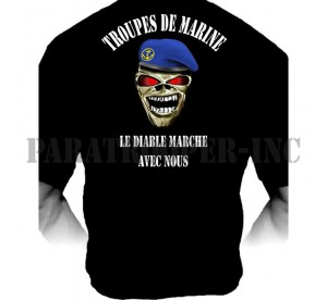 T-shirt French Navy Troops...