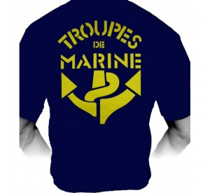Tee-Shirt Troupes de Marine...