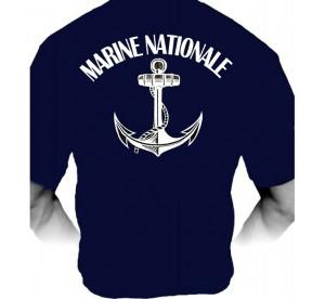 T-shirt Marine Nationale...