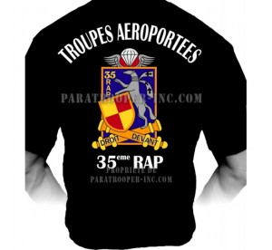 T-shirt 35eme RAP (Régiment...
