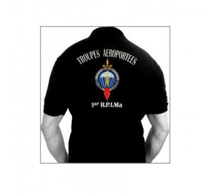 """Polo Shirt 1er RPIMa """"Qui..."""