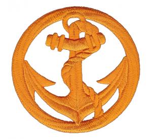 Patch Béret Troupes de Marine